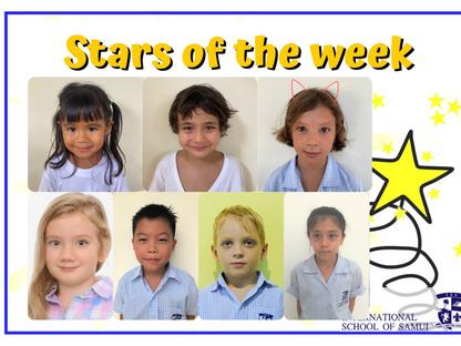 15 January 2021 - Primary KS2 Stars of the Week