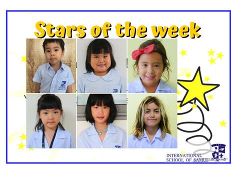 28 August 2020 - Primary KS2 Stars of the Week