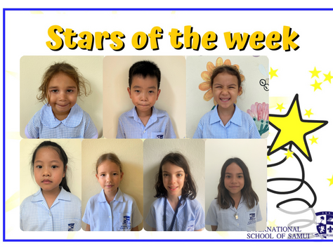 29 January 2021 - Primary Stars of the Week