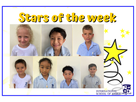 20 November 2020 - Primary KS2 Stars of the Week