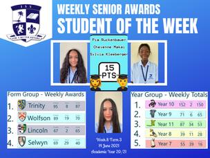 14 มิถุนายน 2021: Weekly Senior Awards