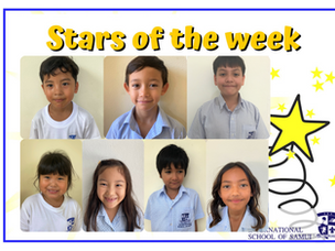 26 March 2021 - Primary Stars of the Week
