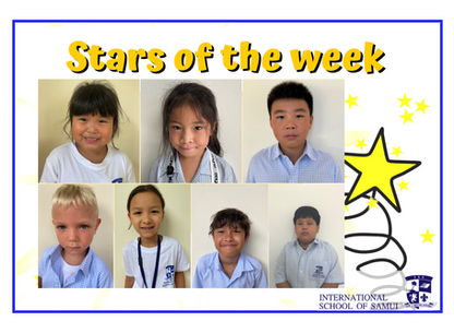 16 October 2020 - Primary KS2 Stars of the Week