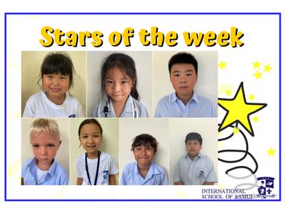 16 October 2020 - Primary KS2 Stars of the Week