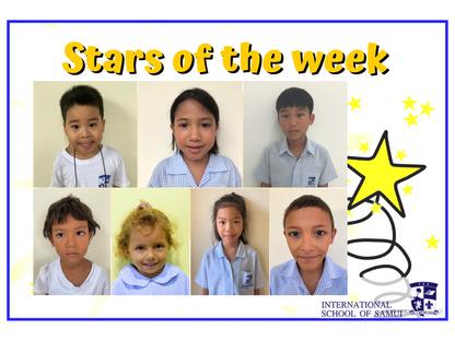 11 December 2020 - Primary KS2 Stars of the Week