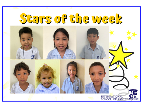 11 December 2020 - Primary KS2 Stars of the Week