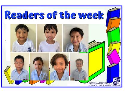 18 September 2020: Readers of the Week