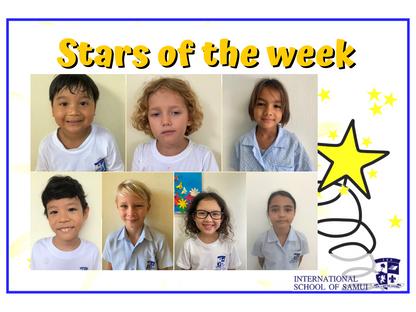 27 November 2020 - Primary KS2 Stars of the Week