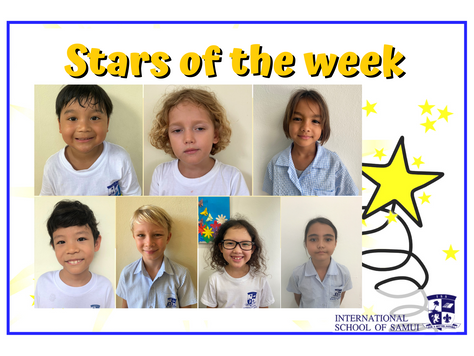 27 November 2020 - Primary KS2 Stars of the Week