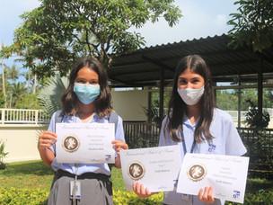 ISS a célébré aujourd'hui les réalisations de ses étudiants du secondaire.