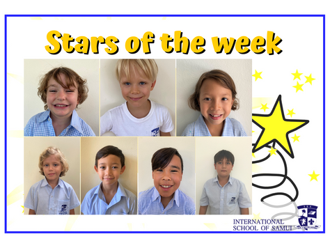 25 September 2020 - Primary KS2 Stars of the Week
