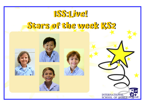 8 May 2020 - Primary KS2 Stars of the Week
