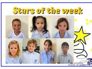14 พฤษภาคม 2021 - Primary Stars of the Week