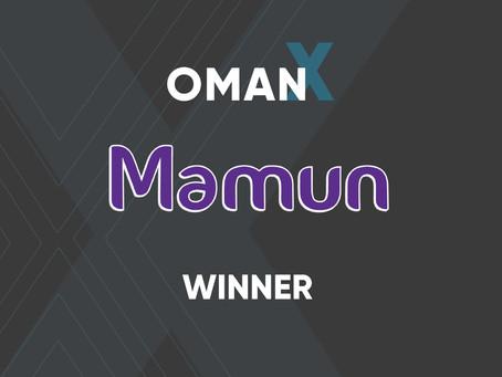 OmanX Winner Mamun.ai