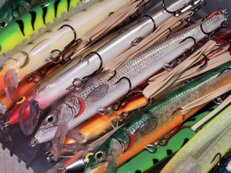 Fishing Spring Cleanup...What's in Your tackle box?