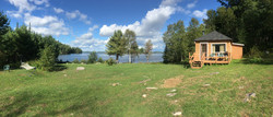 Cabin 1 and lake view