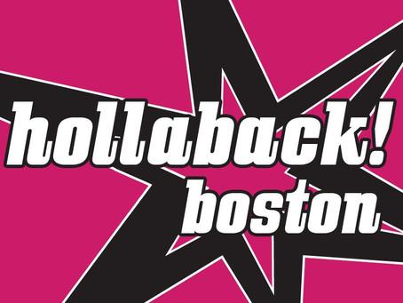 Volunteering with Hollaback!Boston