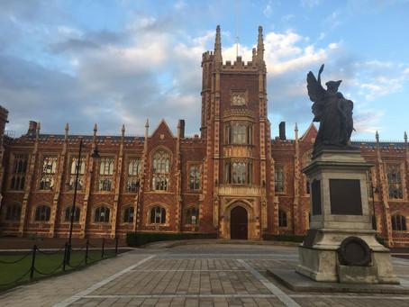 Joining Queen's University Belfast as Lecturer in International Relations