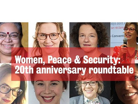 Roundup of participation in WPS 20th anniversary events