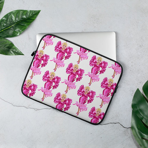 """Pretty In Pink"" Laptop Sleeve"