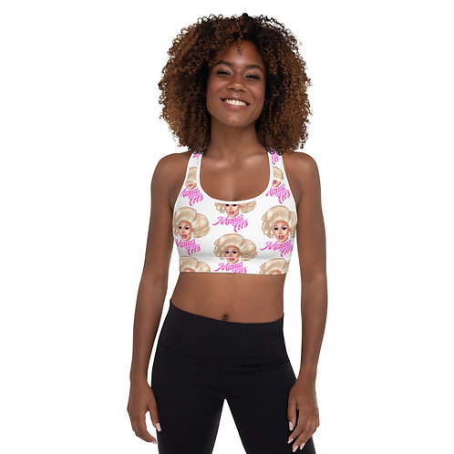 """""""Over and Over"""" Padded Sports Bra"""