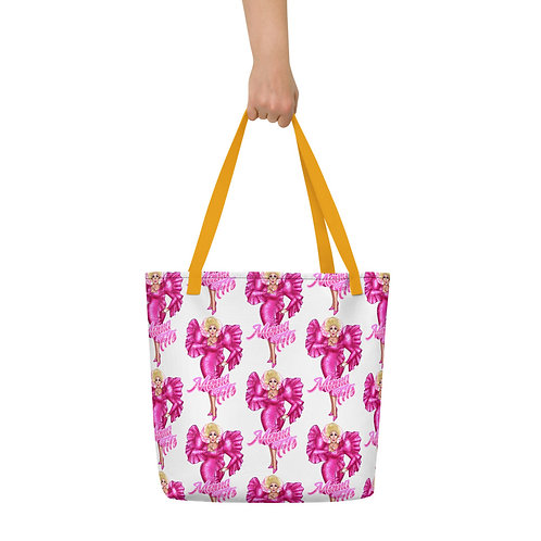 """Pretty in Pink"" Beach Bag"