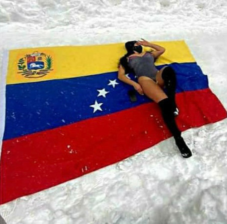 Venezolanos en la nieve: entre el odio y las fake news
