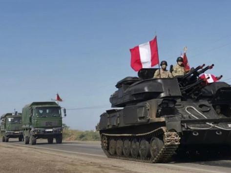 Militares peruanos contra hambrientos venezolanos