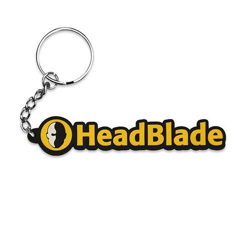 HeadBlade klíčenka s textem