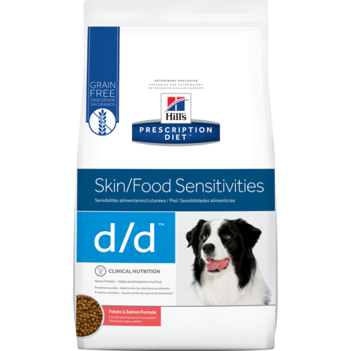Hill's® Prescription Diet® d / d® Canine Skin Support Potato & Salmón