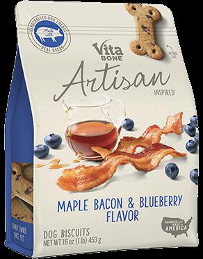 Vita Bone Artisan Tocino y Blueberry