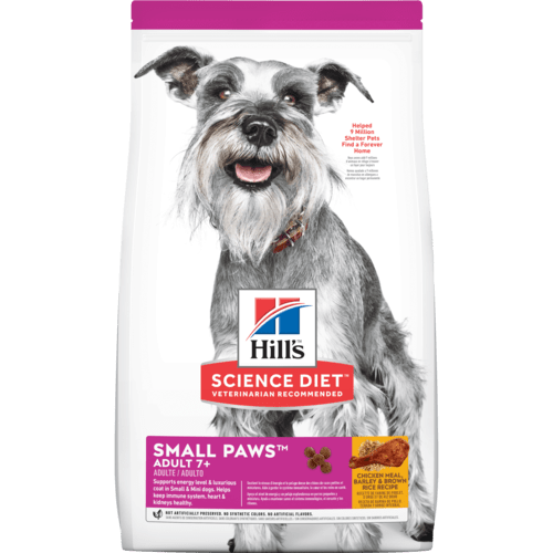 Hill's Science Diet Adult 7+ Small Paws™ Chicken Meal, Barley & Brown Rice