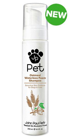 John Paul Pet Shampoo Oatmeal Waterless Foam