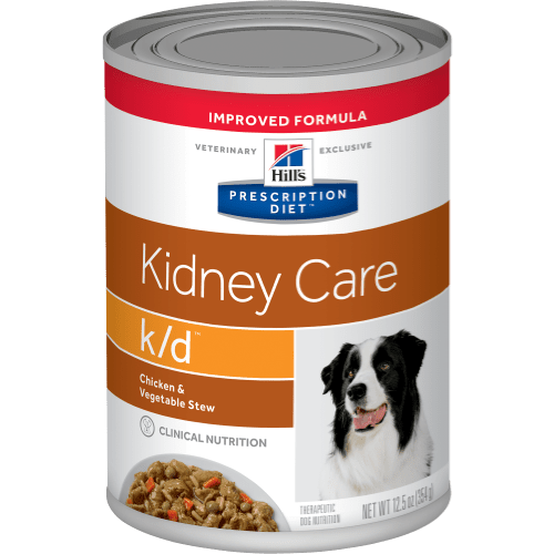 Hill's Prescription Diet k/d Canine Chicken & Vegetable Stew