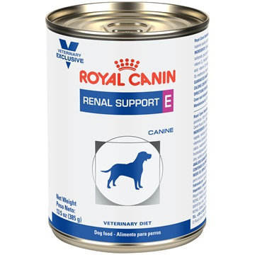 Royal Canin Renal Support E Canine lata