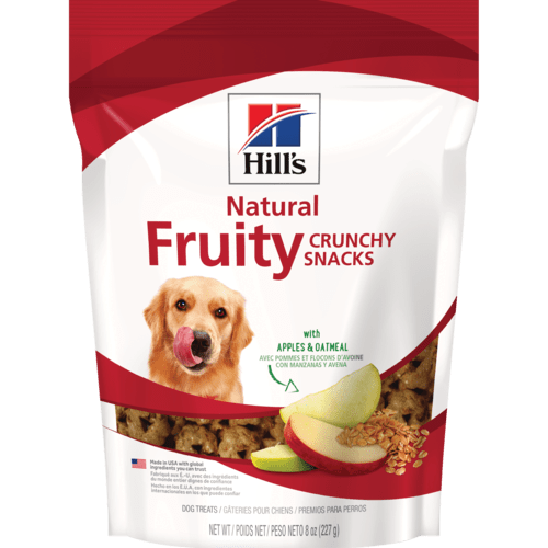 Hill's™ Science Diet™ Crunchy Fruity Snacks with Apples & Oatmeal Dog Treat