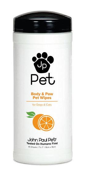 John Paul Pet Full Body & Paw Wipes