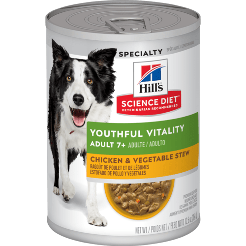 Hill's™ Science Diet™ Adult 7+ Youthful Vitality Chicken & Vegetable Stew