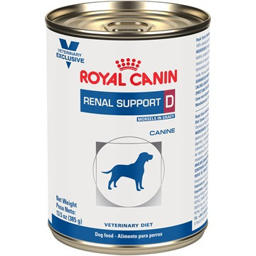 Royal Canin Renal Support D MIG Canine lata