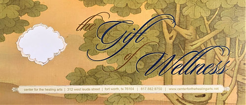 Center for the Healing Arts Gift Certificate