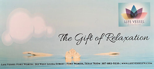 Life Vessel Gift Certificate