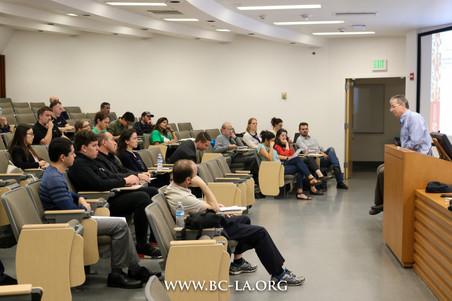 BCLA Lunch Seminar with Matt Crowley