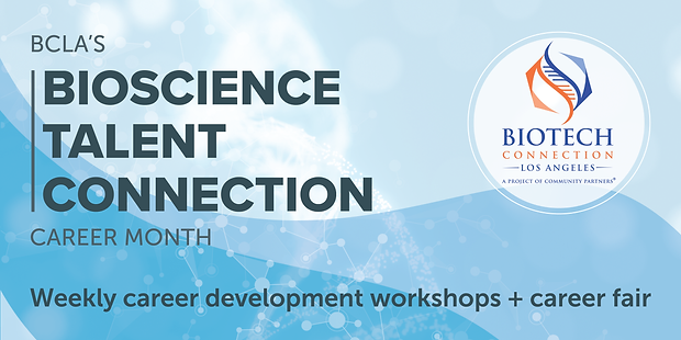 BCLA Bioscience Talent Connection Career Month