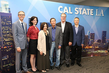 Bioscience community gathers at Cal State LA's downtown center for summer innovator spotlight