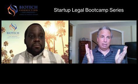 BCLA's Startup Legal Bootcamp Series with Matt Crowley