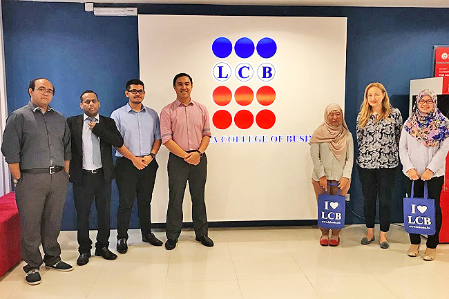 LCB students discover how to stand out in crowd