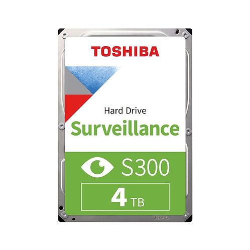 Toshiba S300 Surveillance HDD - 4TB