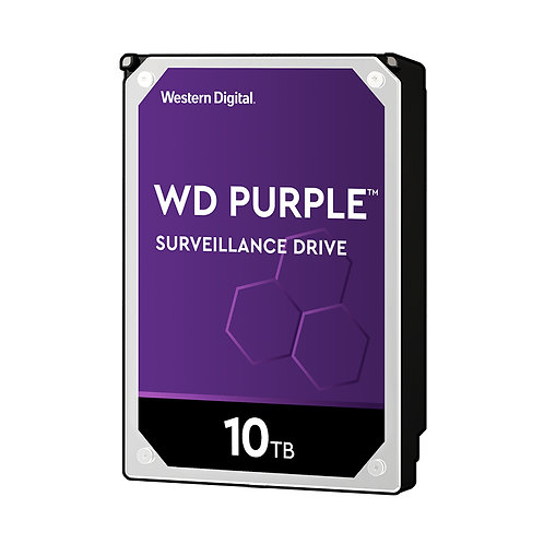 WD Purple WD100PURZ Surveillance HDD - 10TB