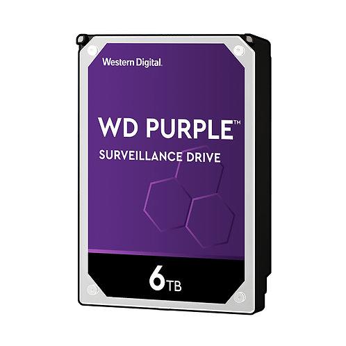WD Purple WD60PURZ Surveillance HDD - 6TB