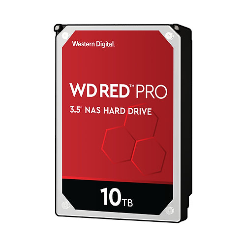 WD Red Pro WD101KFBX NAS HDD - 10TB